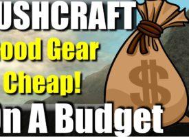 Cel mai ieftin kit de bushcraft